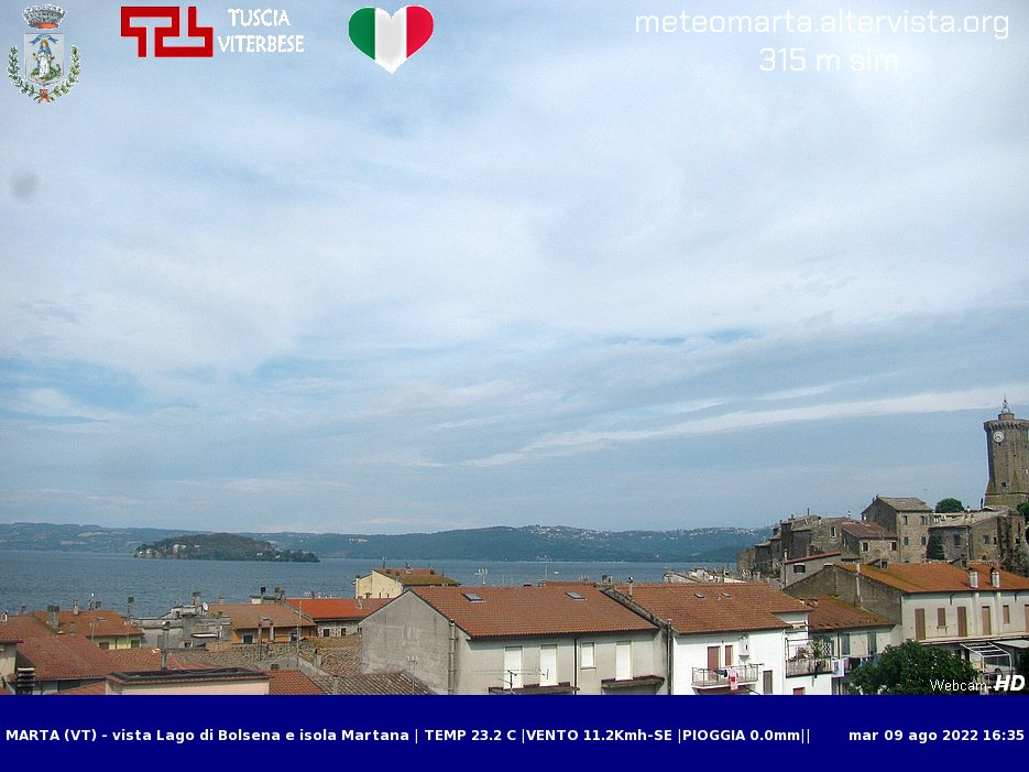Webcam Marta - Meteo Marta.it