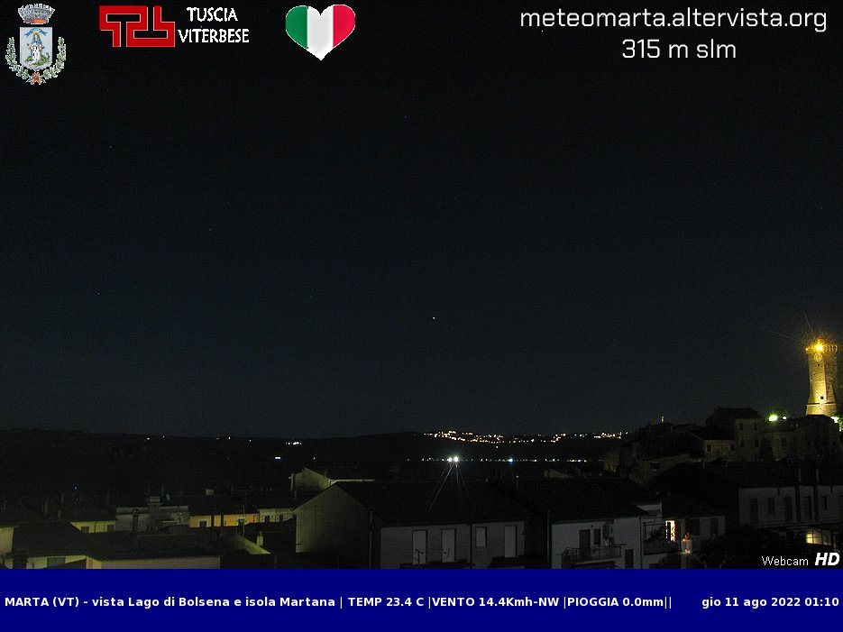 webcam tecchiena
